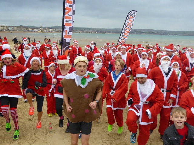 Chase the Pud, Weymouth Beach