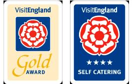 Enjoy England 4 Star and Gold Awards